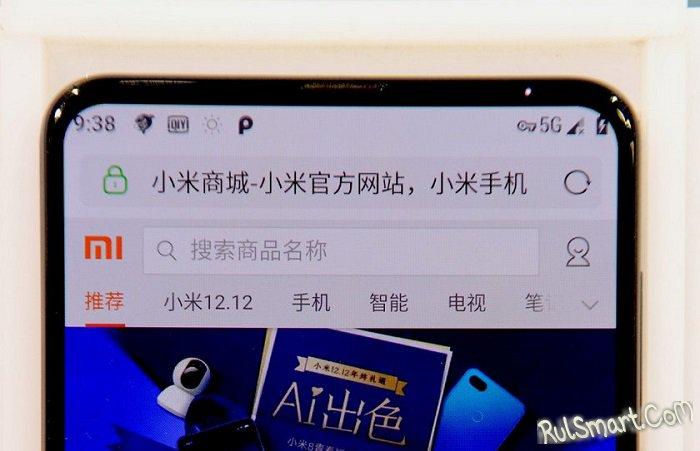 Xiaomi Mi Mix 3: безрамочный смартфон со Snapdragon 855 и 5G