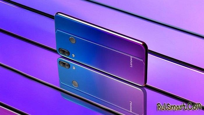 Lenovo Z5s с подэкранной камерой и Snapdragon 678 получит Android 9.0