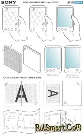 Гибкий смартфон Sony с прозрачным корпусом — революция в дизайне?