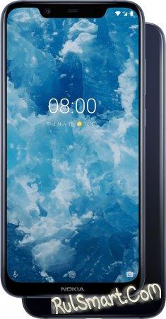 Nokia 8.1: недорогой безрамочный смартфон с 20 МП фронталкой и ZEISS