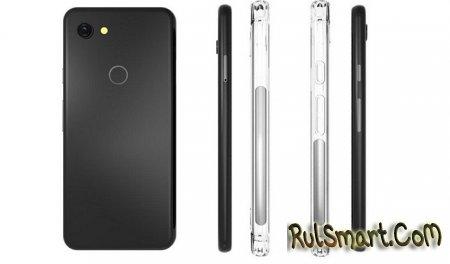 Google Pixel 3 Lite: толстые рамки и двойная фронтальная камера (провал года?)