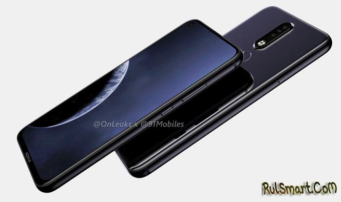 """Nokia 8.1 Plus: первый """"дярывый"""" смартфон компании на рендерах"""