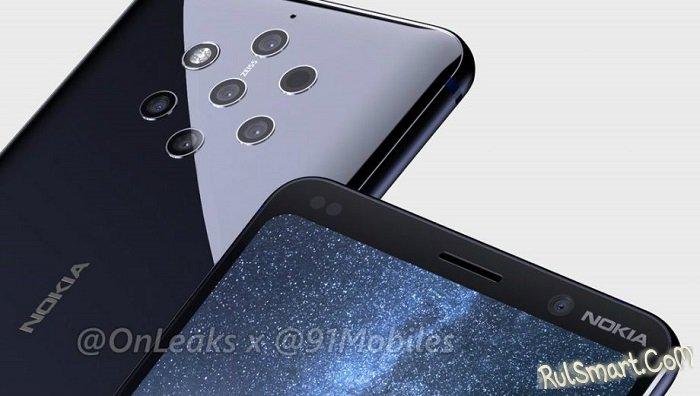 """Nokia 9 с пятью камерами и Nokia 8.1 Plus """"порвут"""" Ваше воображение"""
