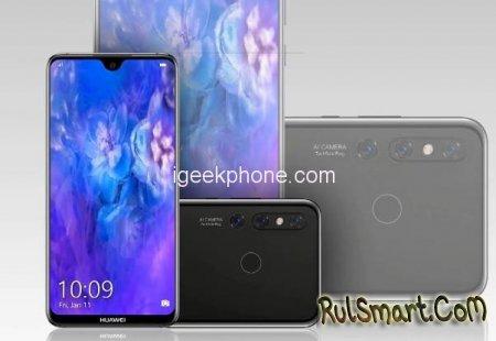 Huawei Nova 4E: рассекречены характеристики странного смартфона