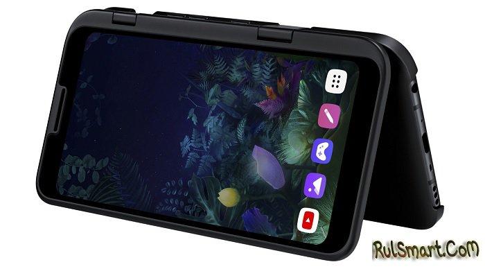 LG V50 ThinQ 5G: невероятный подключаемый экран и пять камер