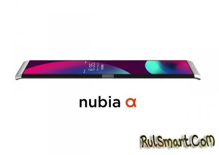Nubia α: смартфон-браслет с космическими дизайном и крутой фишкой