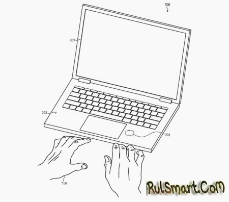 Новый MacBook будет следить за вашим здоровьем, пока вы печатаете