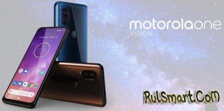 Motorola One Vision: неожиданно космически крутой смартфон с Exynos 9609