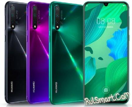 """Huawei Nova 5 и Nova 5 Pro: топовые смартфоны с """"миллионом"""" камер для народа"""