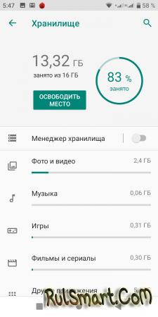 Обзор смартфона BQ 5528L STRIKE FORWARD