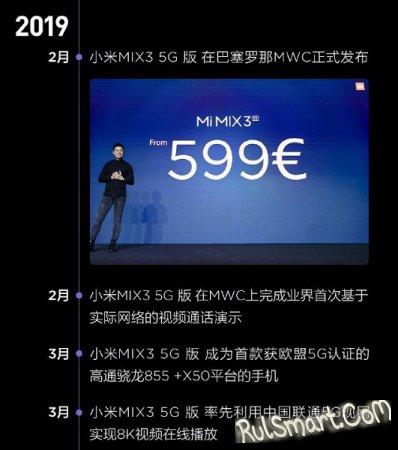 Xiaomi выпускает самый крутой смартфон в мире со Snapdragon 855+ и 5G