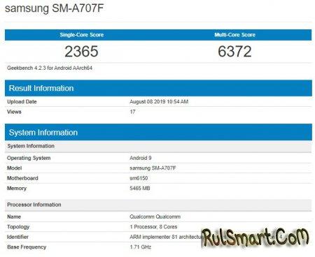 """Samsung Galaxy A70s: недорогой, но мощный смартфон, который """"порвёт"""" всех и вся"""