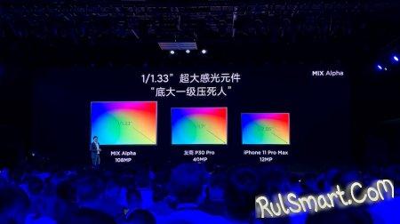 Xiaomi Mi MIX Alpha: суперсмартфон на первом видео + живые фото