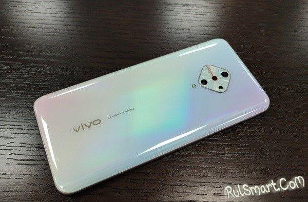 Vivo V17: шик-смартфон с квадратной камерой ошарашил даже Xiaomi