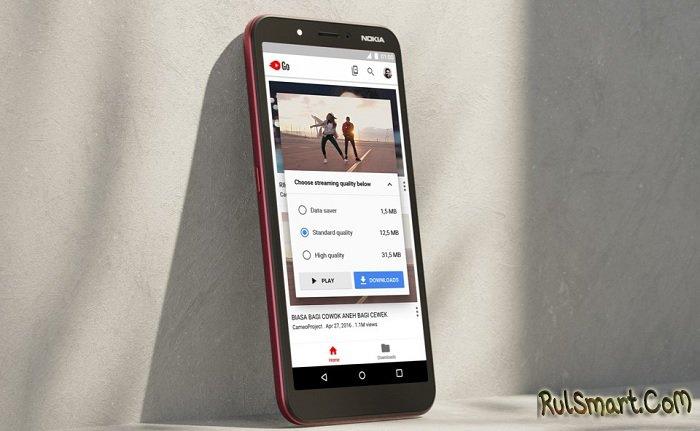 Nokia C1: самый дешевый смартфон с большим экраном на Android Go