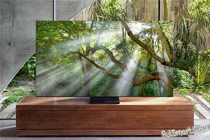 Samsung QLED 8К: фантастический безрамочный телевизор, который опередил время