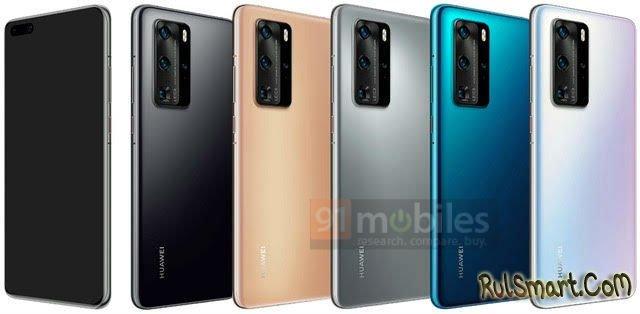 Huawei P40: рассекреченный дизайн смартфона обескуражил фанатов