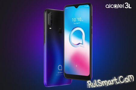 Alcatel 3L,1S, 1V и Alcatel 1B: дешевые смартфоны для народа