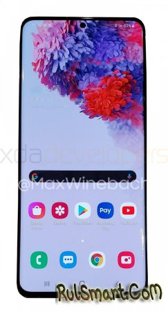 Samsung Galaxy S20+ 5G: реальные фото топ-смартфона огорошили фанатов