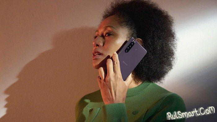 Sony Xperia 1 II: неслыханно крутой смартфон с 4К и оптикой Zeiss