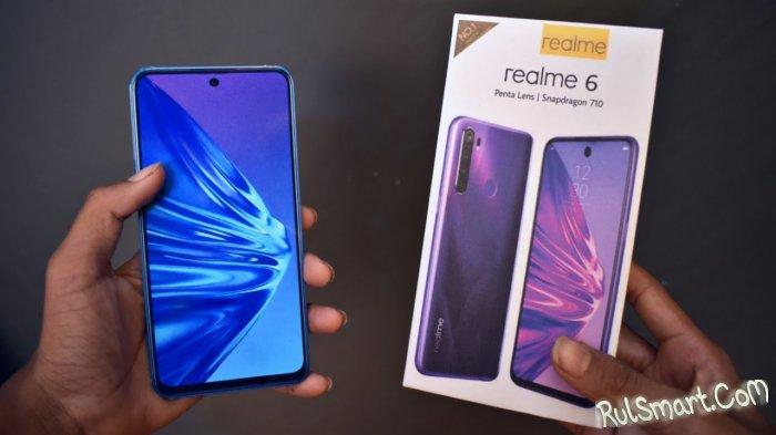 Realme 6: дешевый смартфон, который окажется всем по карману