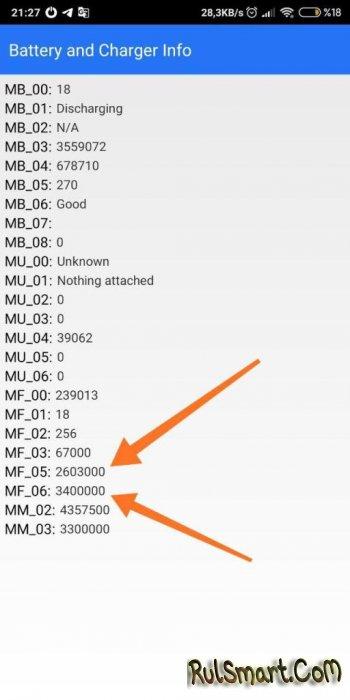 Как узнать уровень износа аккумулятора на смартфоне Xiaomi? (инструкция)