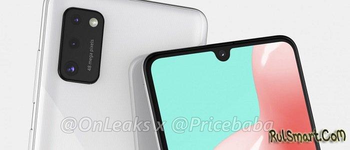 """Samsung Galaxy A41: доступный смартфон с 48 МП камерой """"унизит"""" Xiaomi"""