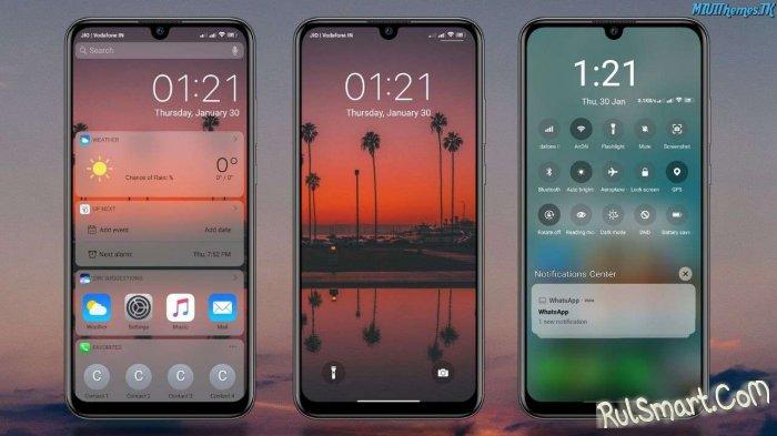 Новая тема IOS 13 XSky для MIUI удивила всех фанов Xiaomi