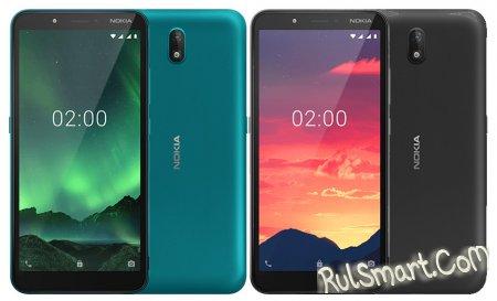 Nokia C2 Android Go Edition: дешевый смартфон с интересными фишками