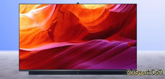 "Huawei Smart Screen V55i: слишком крутой телевизор для народа ""уничтожил"" Samsung"