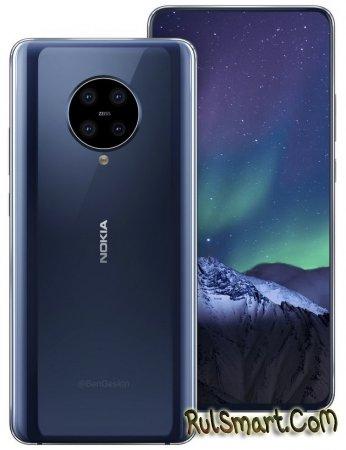 Nokia 9.3 PureView: смартфон с дисплеем будущего и дзен-камерой
