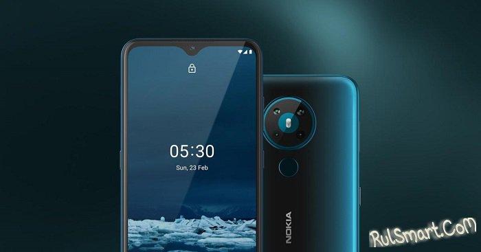 Nokia 5.3: дешевый смартфон с Android 11 и NFC, который уже можно купить