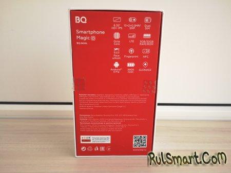 Обзор смартфона BQ 6424L Magic O