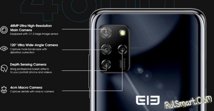 Elephone E10: крутой смартфон с 48 Мп камерой отдают за $99