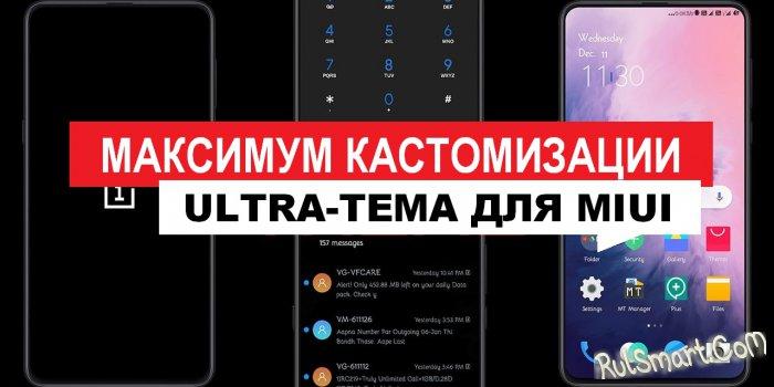Новая тема IY для MIUI 11 удивила всех фанатов Xiaomi свой дикостью