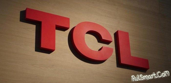 TCL готовит смартфон с подэкранной фронталкой и шестерной камерой