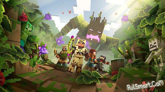 DLC для Minecraft Dungeons: новые миссии, монстры и экипировка уже скоро