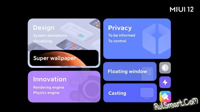 Xiaomi выпустила стабильную MIUI 12 еще для одного смартфона