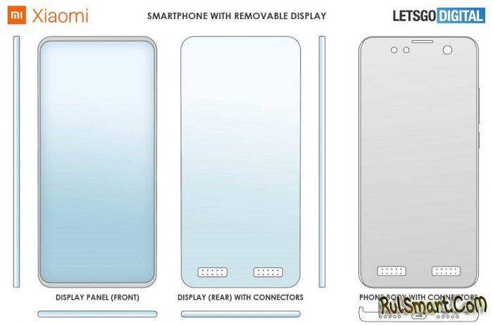 Xiaomi выпустит уникальный смартфон со съемным дисплеем