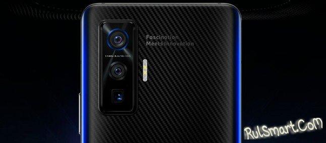 iQOO 5 Pro: мощный смартфон с космо-дизайном на живых фото