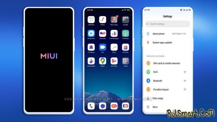 Xiaomi выпустила стабильную прошивку MIUI 12 ещё для 6 смартфонов