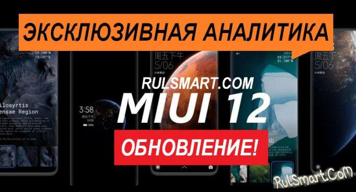 Xiaomi выкатила глобальную и ЗБТ прошивку MIUI 12 ещё для 4 смартфонов