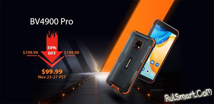 "Blackview BV4900 Pro: AliExpress ""обнулил"" цену на крутой защищенный смартфон"