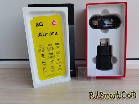 Обзор BQ 6430L Aurora: крутой бюджетник с квадро-камерой
