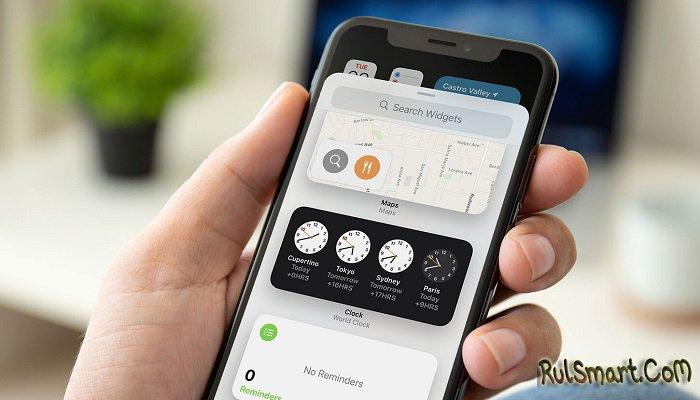Новый виджет часов в стиле iOS поразил фанов Xiaomi качеством