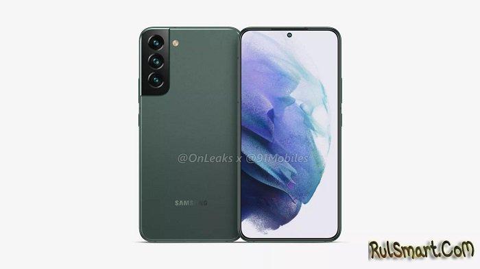 Samsung Galaxy S22 и Galaxy S22+: слитый дизайн топ-фонов изрядно удивляет